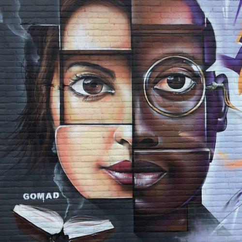 graffiti muurschildering skin deep sittard