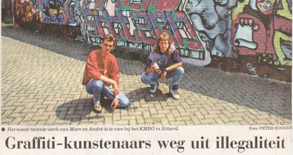 Graffitikunstenaars weg uit de illegaliteit