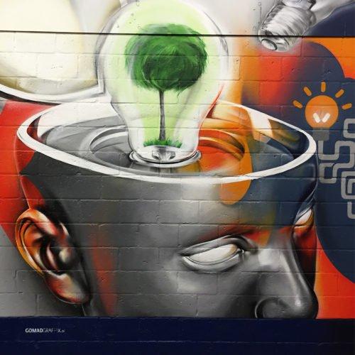 muurschildering kusters venlo