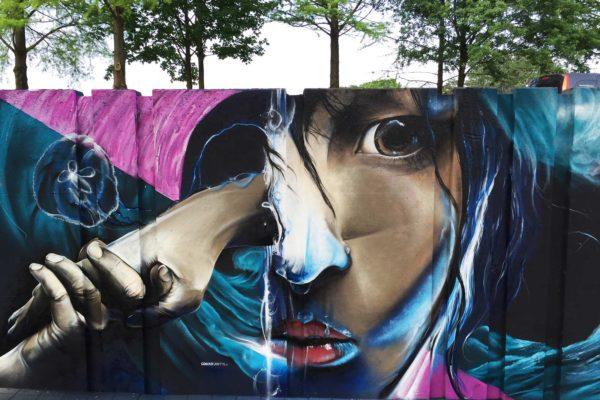 live painting graffiti festival sita16 eindhoven