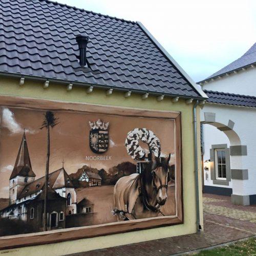 Wandmalerei Landau park