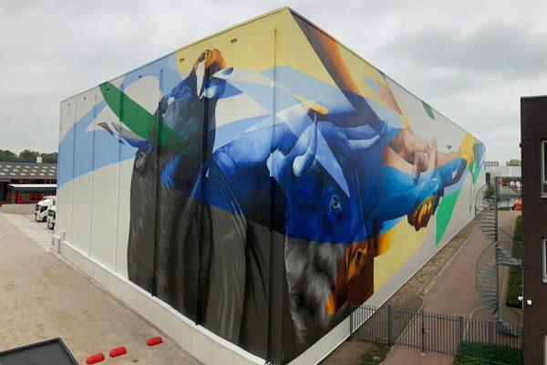 graffiti voor bedrijven en overheid