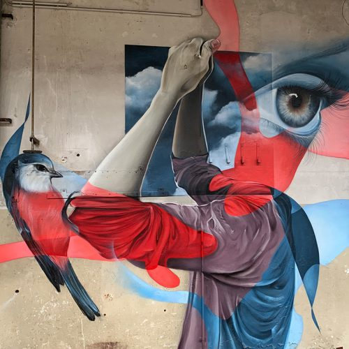streetart muurschildering Kaiserslautern urban art