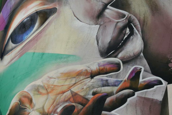live painting silo kings of colors festival den bosch