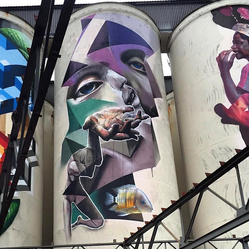 graffiti op kings of colors festival 2016