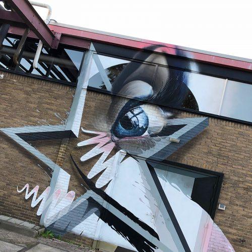 graffiti v oor bedrijven