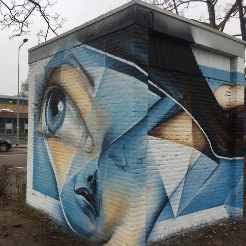 streetart electriciteitshuisjes