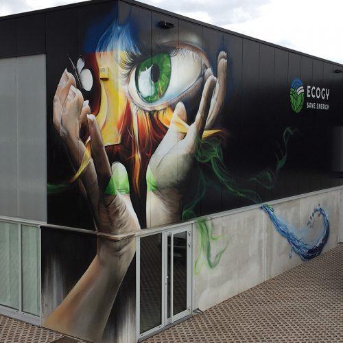 graffiti voor bedrijven