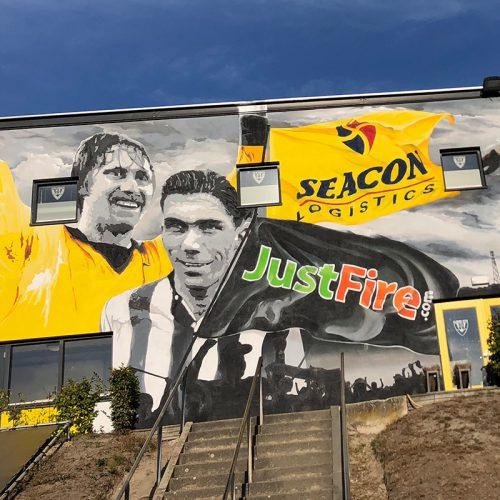 graffiti stadion VVV Venlo