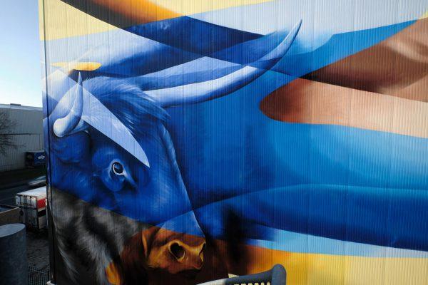 muurschildering Oss