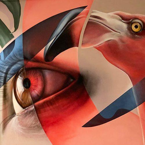 gomad mural muurschildering zuyderland heerlen